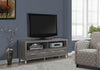 "Tv Stand - 60""L / Dark Taupe With 4 Drawers"