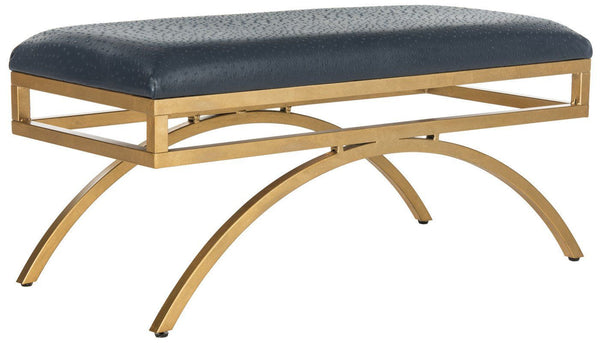 Moon Arc Bench Navy / Gold