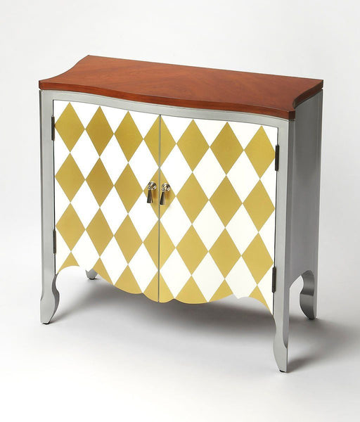 Iola Transitional Door Chest Multi-Color