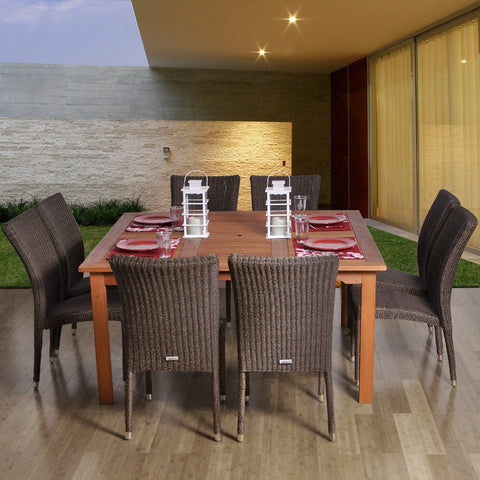 Provence 9-Pc Dining Set Outdoor