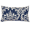 Navy Blue French Quarter Small Pillow