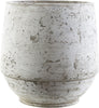 Rome Cottage/Country Pot Light Gray / Ivory Cement | Large