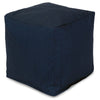 Navy Blue Solid Small Cube