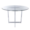 Legend Dining Table Base in Chromed Steel