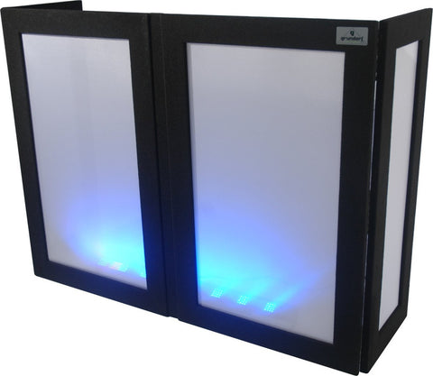 DJ Lycra Facade / DJ Booth Cover Rental