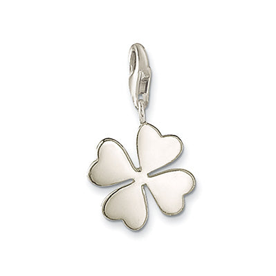 Children's Charms:  Sterling Silver Four Leaf Clover Charms