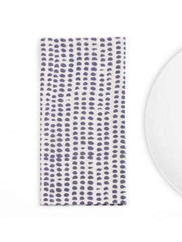 Charcoal Dot Napkins, Set of 4