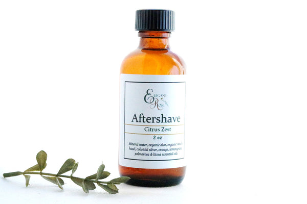 Mens Natural Aftershave - Citrus Zest Aftershave, Natural Aftershave, Organic Aftershave