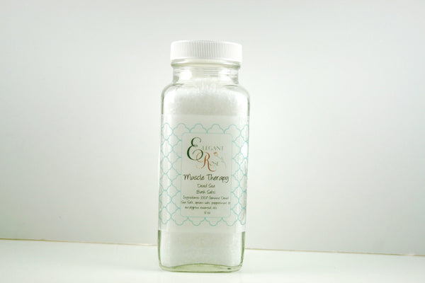 Muscle Therapy Dead Sea Bath Salts - Clear Naturals