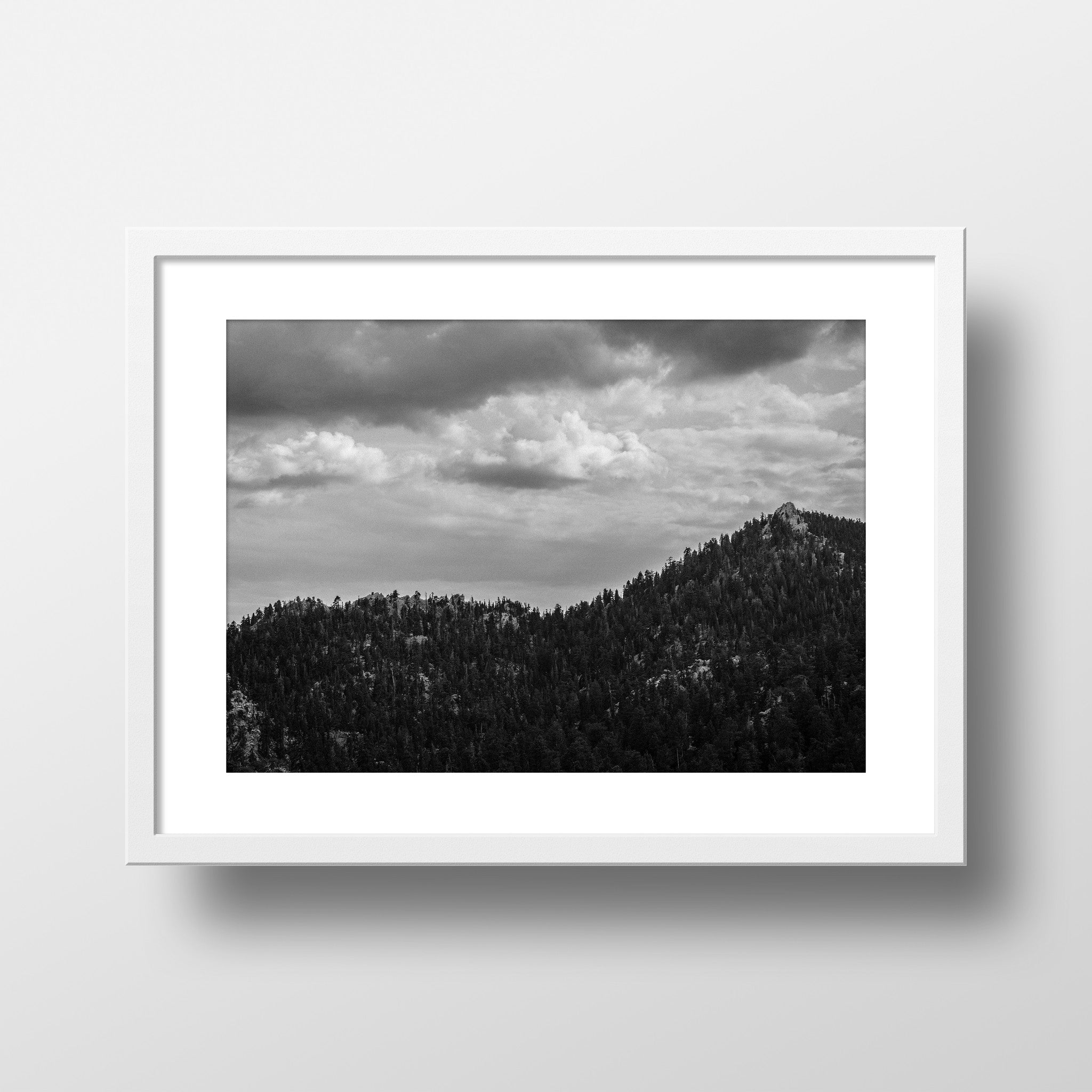 """Ridgeline"" Print by Jon Mesic, 18x24"""