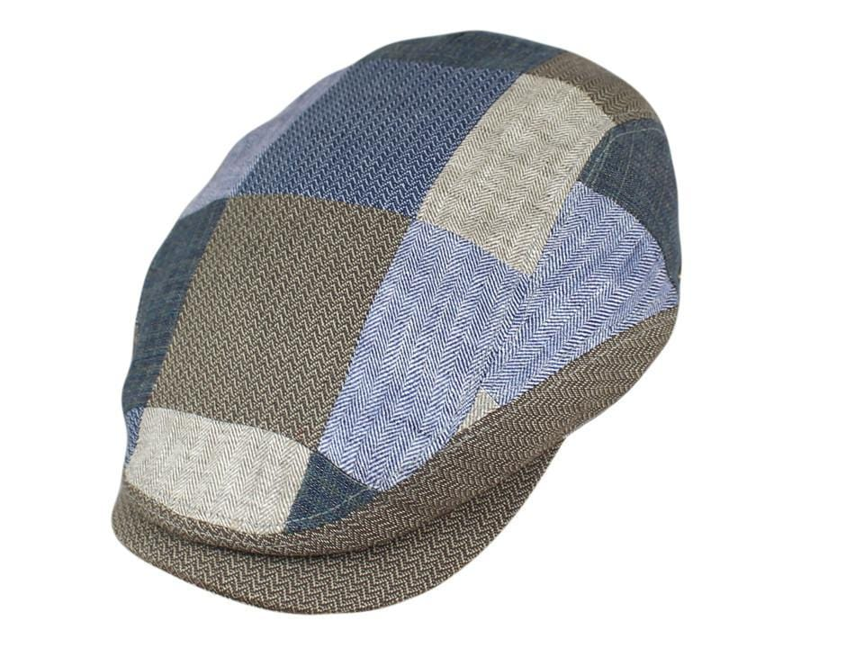 Brown / Blue Patchwork