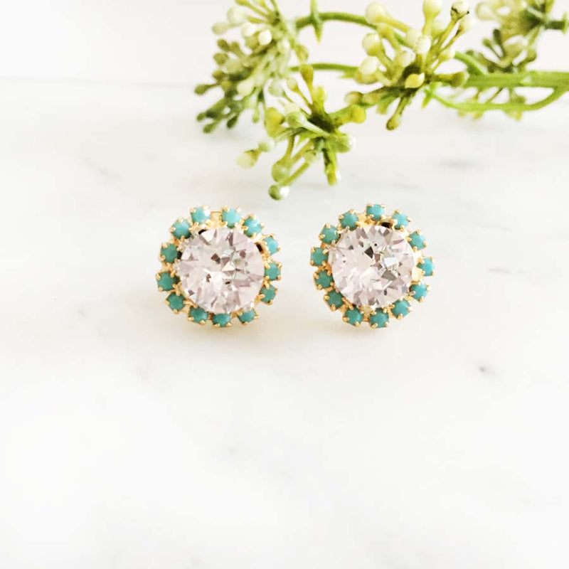 Delovely - Swarovski Crystal Earrings