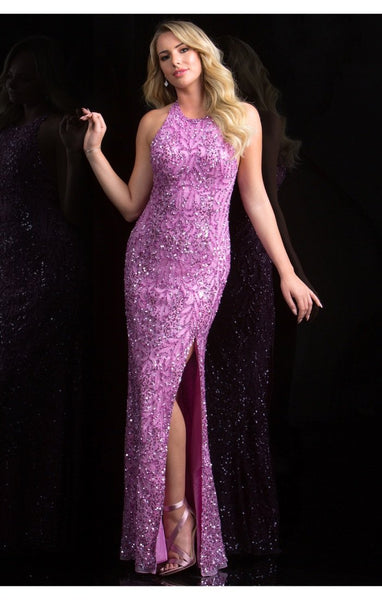Scala Beaded Long Dress 48831