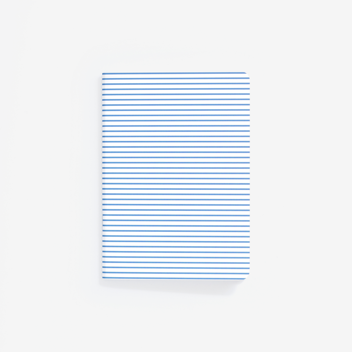 Blue Pinstripe Mini Notebook