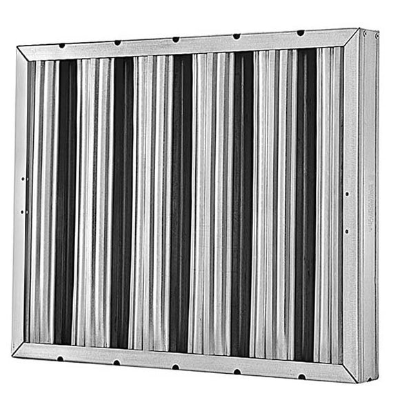 10x20x2 Grease Baffle Filter (2