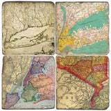 Maps Drink Coasters