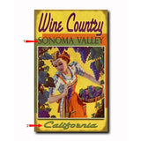 Wine Country Custom Sign