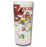 Boston College Collegiate Frosted Glass Tumbler