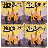 New Orleans Drink Coasters