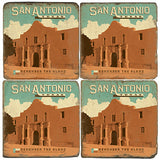 San Antonio Drink Coasters