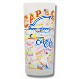 Cape Cod Frosted Glass Tumbler