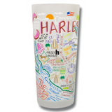 Charleston Frosted Glass Tumbler