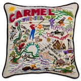 Carmel Hand-Embroidered Pillow
