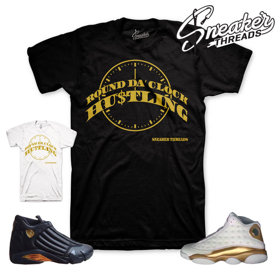 Jordan dmp clothing match Jordan 13 and 14 sneakers pack.
