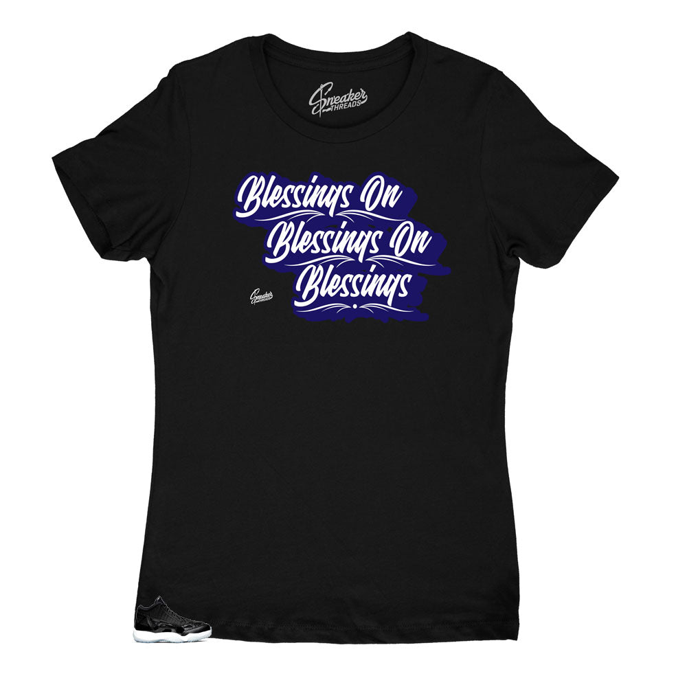 Womens sneaker tees match Jordan 11 low space jam shoes.
