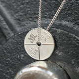 V.2 Stainless Steel Weight Plate Necklace - Furious Apparel