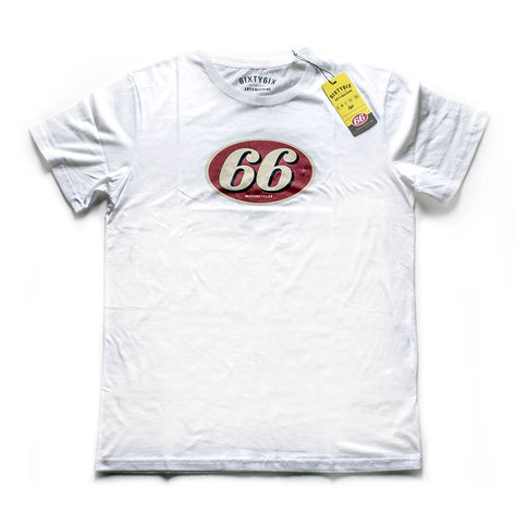 66 Mechanic Tee (White)