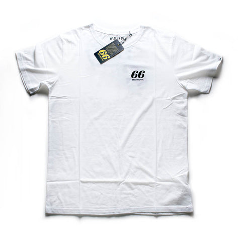66 Defiant Tee (White Only)