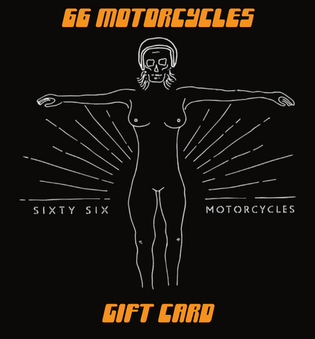 66 Motorcycles Gift Card