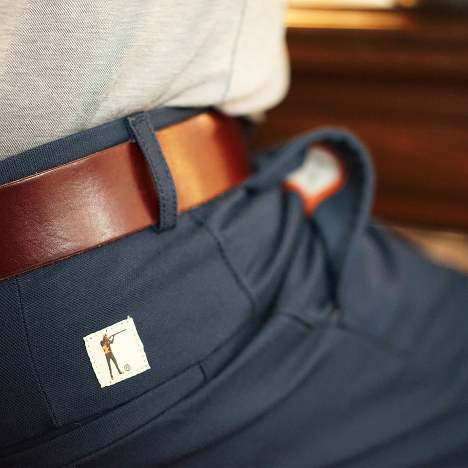 8 Point Duck Cotton Pant - Navy