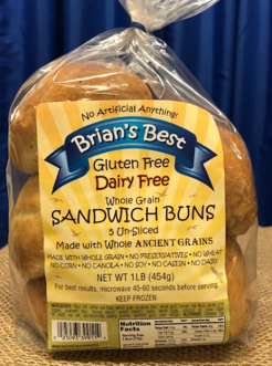 Regular Dairy Free Sandwich Rolls