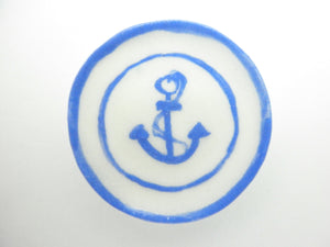 Miniature plate - Anchor