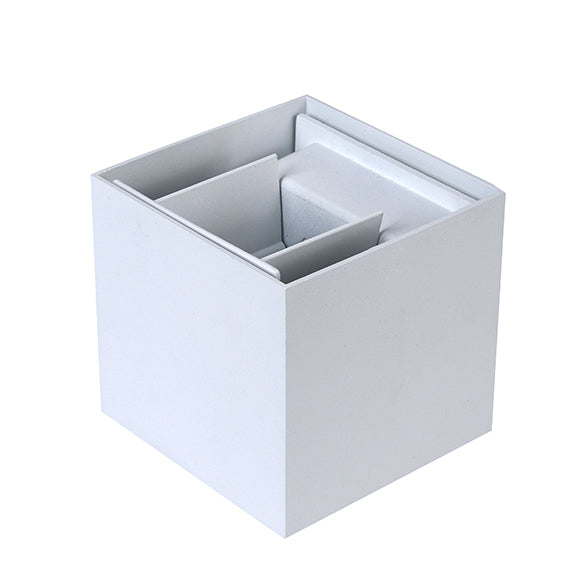 Applique Led a Forma di Cubo 6W ES30