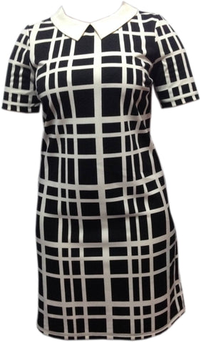 Dress - Ladies - Ladies Black/White Strip With Cape - Unbranded