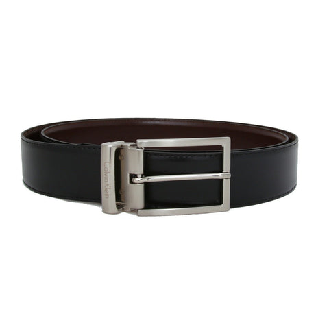 Mens Belt - Calvin Klein Genuine Leather Reversible Belt - Style 2