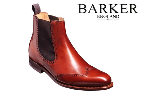 Shoes Men - Barker Luxembourg - Rosewood Calf