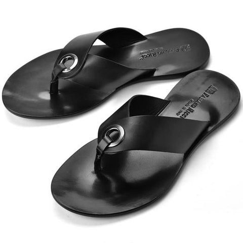 Shoes Men - FABIANO RICCI - Thong Sandals - Black