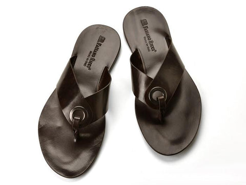Shoes Men - FABIANO RICCI - Thong Sandals - Brown