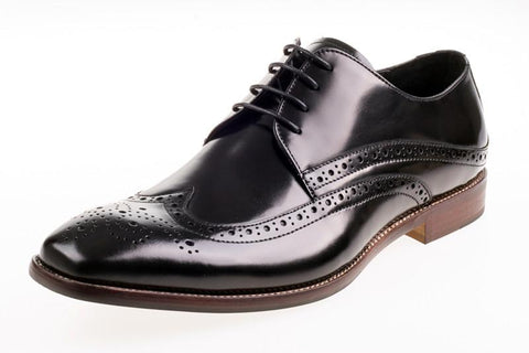 Shoes Men - JOHN WHITE - Whitehall Hi-Shine Black Leather