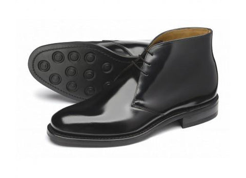 Shoes Men - LOAKE 209B Polished Ankle Boots - Black