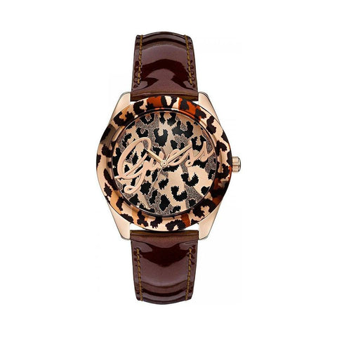 Wrist Watch - Ladies - GUESS  - Temptress Rose Leopard Print Ladies Watch