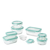 OXO 16-Piece Smart Seal Glass Container Set