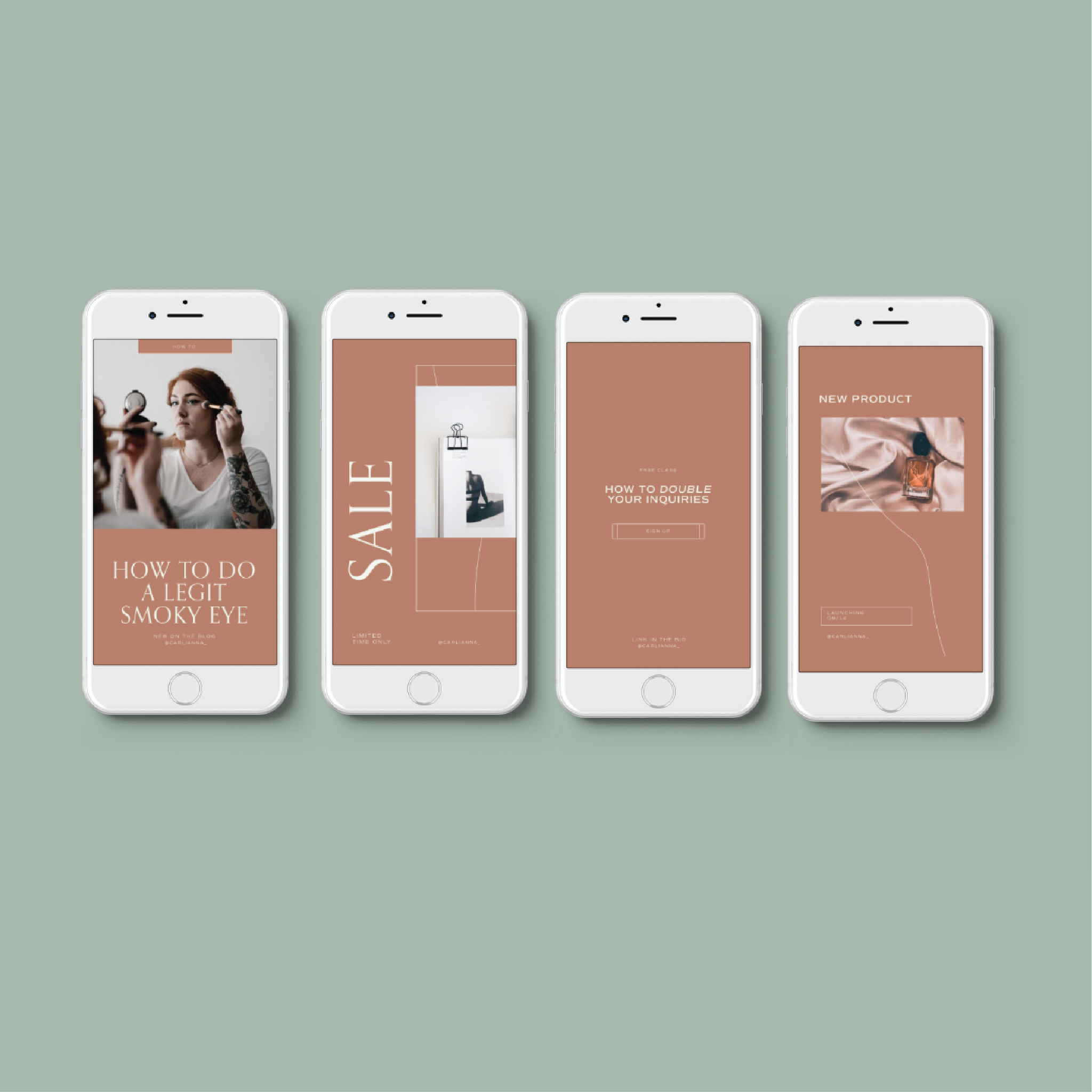 Instagram Template Pack for Businesses - Carli Anna Brand Shop
