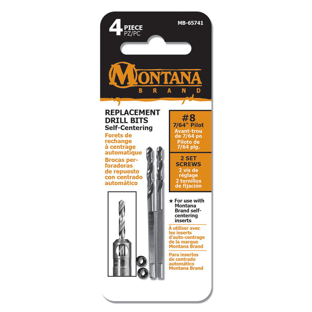 Replacement Self Centering Drill Bits