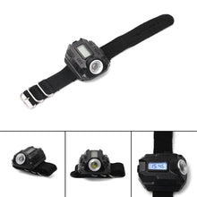 Load image into Gallery viewer, LED Wrist Watch Flashlight