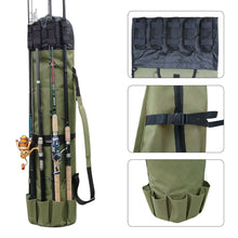 Load image into Gallery viewer, Portable Multifunction Fishing Rod Bag